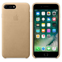 Apple Copy Original Silicone Case Iphone 7 Plus, Tan