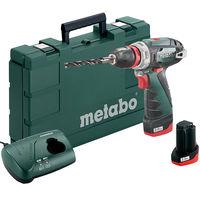 Аккумуляторный шуруповерт Metabo PowerMaxx BS Quick