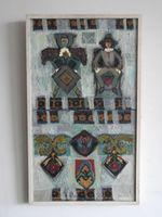 Король и королева, 65x39 см., холст, масло