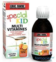 Special Kid Multivitamine (si laptisor de matca) sirop 125ml