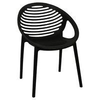 купить Пластиковое стул 560x590x830 мм, черный в Кишинёве
