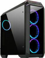Case ATX Chieftec STALLION II, w/o PSU, 2xUSB3.0, 4x120mm RGB, Fan Controller, 2xTempered Glas,Black