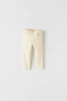 Pantaloni ZARA Galben deschis 4743/502/300
