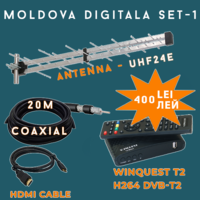MOLDOVA DIGITALA SET-1