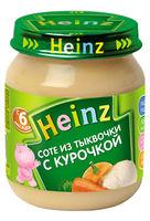 Piure HEINZ sote de dovleac cu carne de gaina 120g (6 luni)