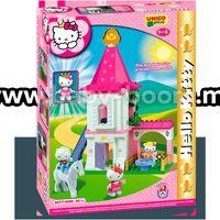 Androni Giocattoli 8677-00HK Конструктор Замок Hello Kitty (80 эл)