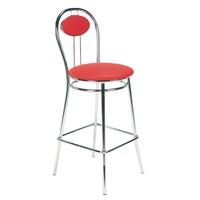 купить Барный стул TIZIANO, красный в Кишинёве