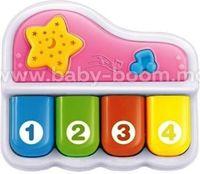 """Baby Mix PL-430131 Музыкальная игрушка """"Пианино"""" белое"""