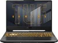 """15.6"""" ASUS TUF Gaming A15 FA506QM, AMD Ryzen 7 5800H 3.2-4.4GHz/16GB DDR4/M.2 NVMe 512GB SSD/GeForce RTX3060 6GB GDDR6/WiFi 6 802.11ax/BT5.1/USB Type C/HDMI/Backlit RGB Keyboard/15.6"""" FHD IPS LED-backlit 144Hz (1920x1080)/NoOS"""