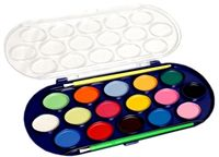 Краски 16 цветов Watercolor