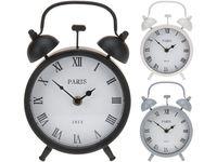 Часы-будильник настольные 15Х23.5cm, металл