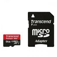 MicroSDcard Transcend Premium (TS64GUSDU1), 64 GB