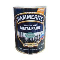 Hammerite Краска для металла Салатовая молотковая 0.75л