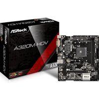 ASRock A320M-HDV, AM4 AMD A320 mATX