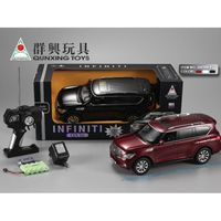 R/C CARS 1:16 INFINITI QX56 R/C CAR WITH CHARGER, красный