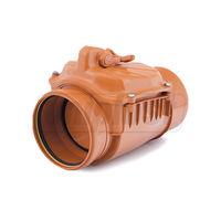 купить Обратный клапан  ПВХ  dn110 нерж.заслонка ZB110 KARMAT PL в Кишинёве