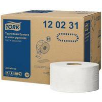 Бумага туалетная TORK Jumbo T2 2-сл, 170м*9.7см, 12 рул