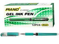 купить Ручка гелевая PT-117 0.5mm зеленая (1/12) в Кишинёве