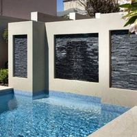 Marmura Panel Catania Black 15 x 60 cm