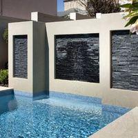 Мраморная панель Catania Black 15 x 60 см