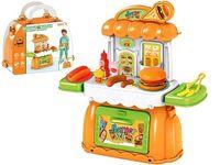 Set jucarii Burger in valiza