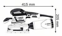 Вибрационная шлифмашина Bosch GSS 230 AVE (0601292802)