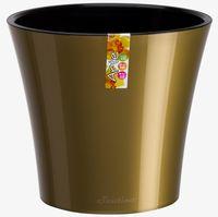 купить Вазон 0.6 L золотисто - чёрный