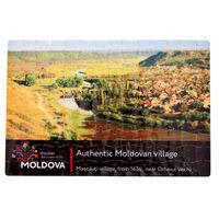 купить Пазлы A4 – Аутентичная молдавское село в Кишинёве
