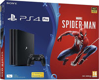 Consola SONY PlayStation 4 PRO 1TB + Fortnite Neo Versa Bundle + Marvel's Spider-Man