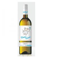 Vinuri de Comrat Funny Lamb ''Мускат Оттонель Рислинг Фетяска Алба'', белый полусладкий, 0.75 Л