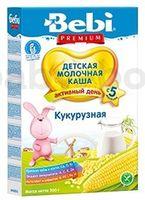 Bebi Premium молочная кукурузная каша 200gr.(5m+)