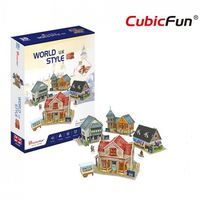 CubicFun пазл 3D World Style UK