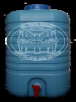cumpără Spalator de maini 20L cu robinet ALBASTRU (18x30x47,5 cm) EP în Chișinău