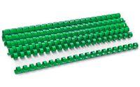 ARGO Пружина пластиковая ARGO A4, 12.5 мм, 10 штук, зеленая
