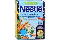 Nestle каша Помогайка 5 злаков безмолочная с липовым цветом, 6+мес. 200г