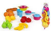 "Color Baby 43292 Набор ""My home"" (фрукты, овощи и посуда)"
