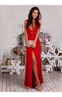 Платье Лайла красное