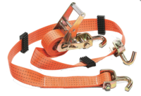 Стяжной ремень для автовоза с поворотными крюками 5000 Kg (3m/50mm)