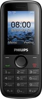 Philips E120 Xenium 2 SIM (DUAL) Black