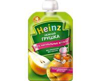 Heinz пюре нежная грушка, с 4 мес, 100 г