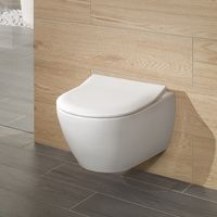 Vas WC suspendat Villeroy&Boch Subway 2.0, DirectFlush, CeramicPlus  cu capac Slim Soft Close