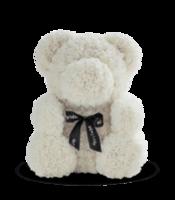 cumpără Ursul de trandafiri albi  70 cm în Chișinău