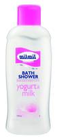 Гель для душа и пена для ванны MilMil Молочный йогурт 1000мл