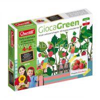 Quercetti 0670 Игровой набор ВЫРАСТИ САМ клубника Play Green small Strawberry