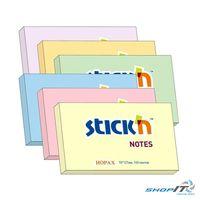STICK`N 21392, Блок для заметок 76x101/100л оранжевый