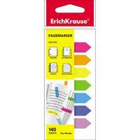 EKRAUSE Закладки самоклеющиеся EKRAUSE 12x44/7 Neon стрелки