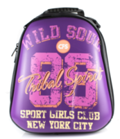 """Ghiozdan pentru școală """"Wild Soul"""" CFS I violet"""