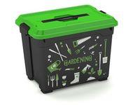 Container cu organizator Moover Gardening S, 38X26.5X29.5cm