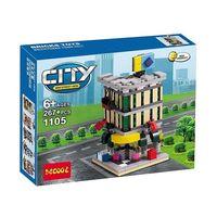 Decool конструктор Mini Modular City 267 дет.