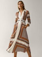 Платье Massimo Dutti Принт 6610/831/615